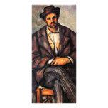 Granjeros sedentarios de Paul Cézanne (la mejor ca Tarjetas Publicitarias