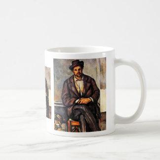 Granjeros sedentarios de Paul Cézanne la mejor ca Taza De Café