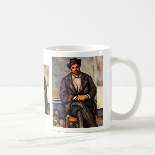 Granjeros sedentarios de Paul Cézanne (la mejor ca Taza De Café
