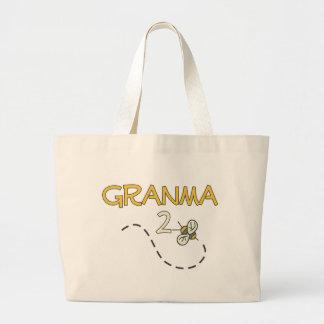 Granma 2 Bee Large Tote Bag