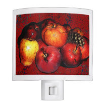 Granmal Bunches of Apples Night Light