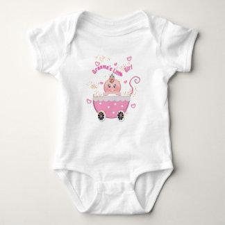 Granma's Little Girl Pink Stroller Infant Creeper