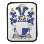 Grann Family Crest iPad Sleeve