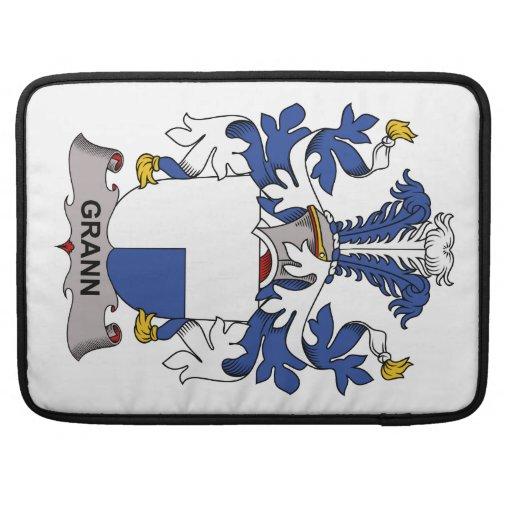 Grann Family Crest MacBook Pro Sleeve