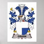 Grann Family Crest Print