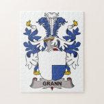 Grann Family Crest Puzzle