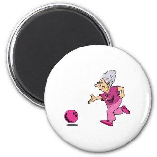 Grannies bowling league magnet