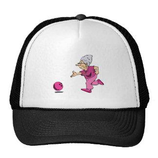 Grannies bowling league trucker hat