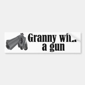 Grannies With Guns Car Bumper Sticker