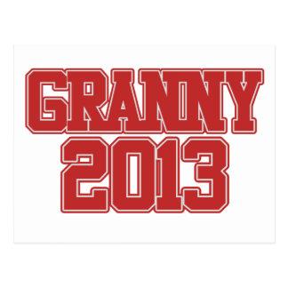Granny 2013 postcards