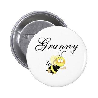 Granny 2 be pinback button