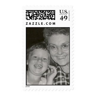 Granny and Me Postage Stamp