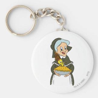 Granny and TWEETY™ Pie Keychain