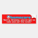 Granny Care Bumper Sticker
