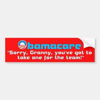 Granny Care Car Bumper Sticker