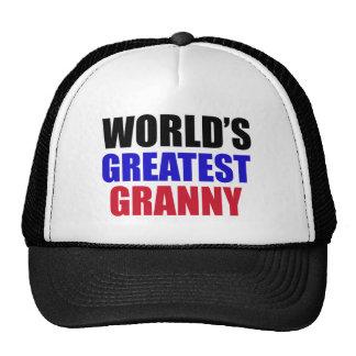 granny design trucker hat