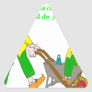 GRANNY GRANDPA On holiday 1.PNG Triangle Sticker