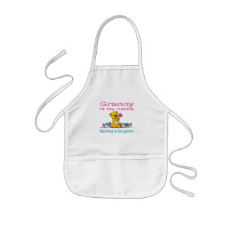 Granny Is My Name, Spoiling Is my Game Kids' Apron