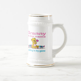 Granny Is My Name, Spoiling Is my Game Coffee Mugs