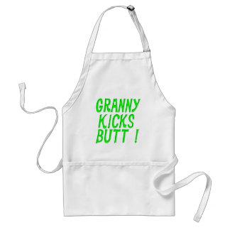Granny Kicks Butt! Apron