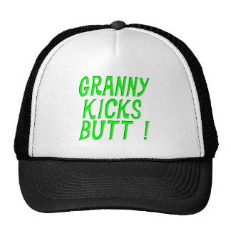 Granny Kicks Butt! Hat