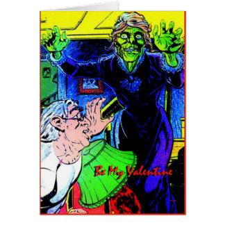 Granny Lena Skullstyr Be My Valentine by Valpyra Card