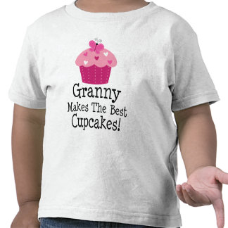Granny Makes The Best Cupcakes Shirts