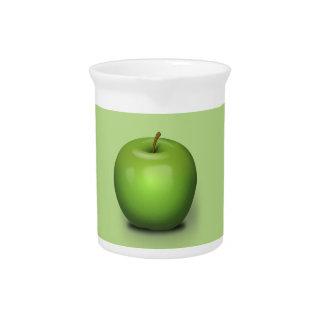 Granny Smith Apple Beverage Pitchers