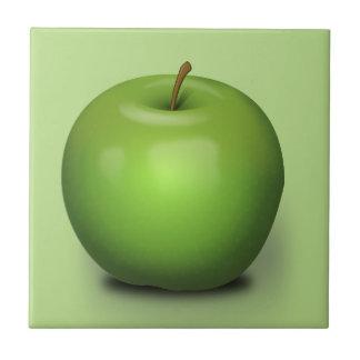 Granny Smith Apple Ceramic Tile