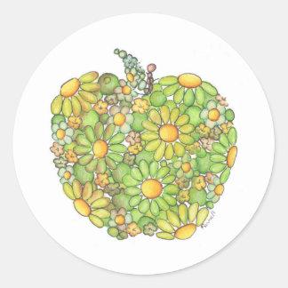 Granny Smith Apple Classic Round Sticker