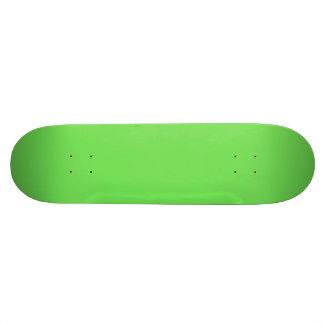 GRANNY SMITH APPLE GREEN (solid color) Skate Boards