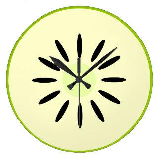 Granny Smith Apple Large Clock