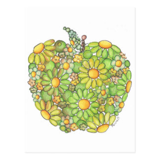 Granny Smith Apple Postcard