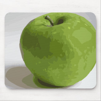 Granny Smith Green Apple Picture Mouse Pad