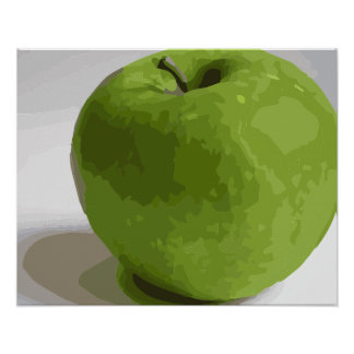 Granny Smith Green Apple Picture Poster