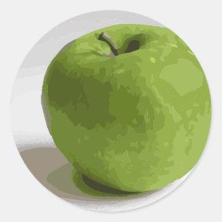 Granny Smith Green Apple Picture Stickers