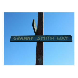 granny smith way postcard