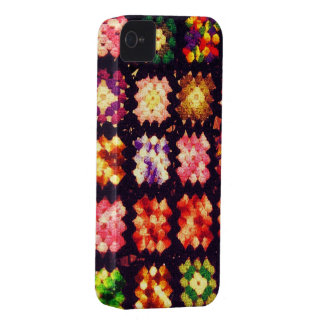 Granny Square iPhone Case iPhone 4 Cases