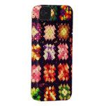 Granny Square iPhone Case Case-Mate iPhone 4 Case
