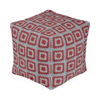 Granny Squares Cube Pouf