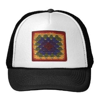 Granny Squares Trucker Hat