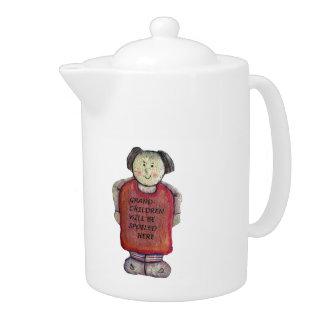 Granny Teapot