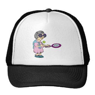 Granny Tennis Trucker Hat