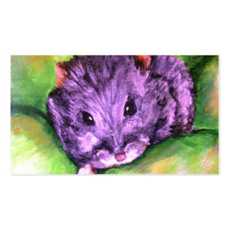 Granny the Grey Hamster Business Cards