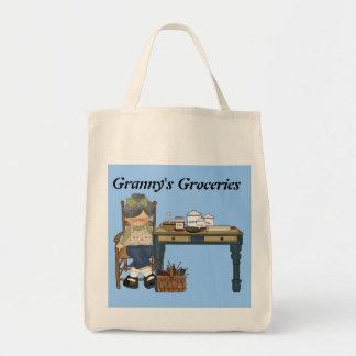 Granny's Groceries tote bag