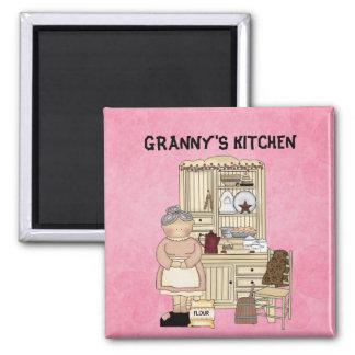 GRANNY'S KITCHEN FRIDGE MAGNET