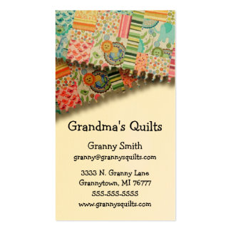 Granny's Quilts Business Cards
