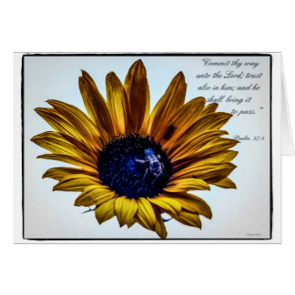 grannys-sunflower card