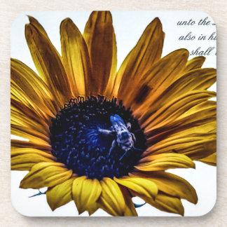 grannys-sunflower coaster