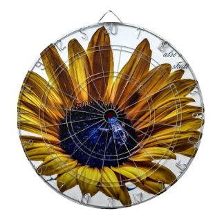 grannys-sunflower dartboard